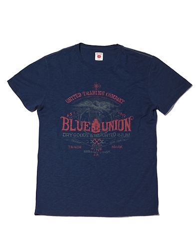 Blue Union T-Shirt