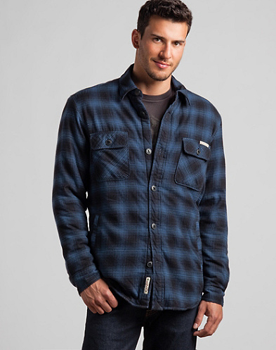 Boxwood Plaid Shirt Jacket*