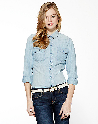 Brooke Chambray Shirt