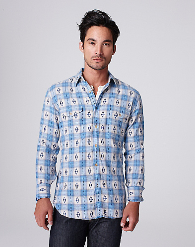 Brushed Jacquard Shirt