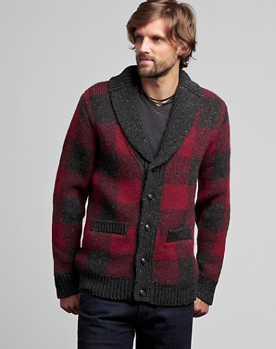 Buffalo Plaid Sweater*