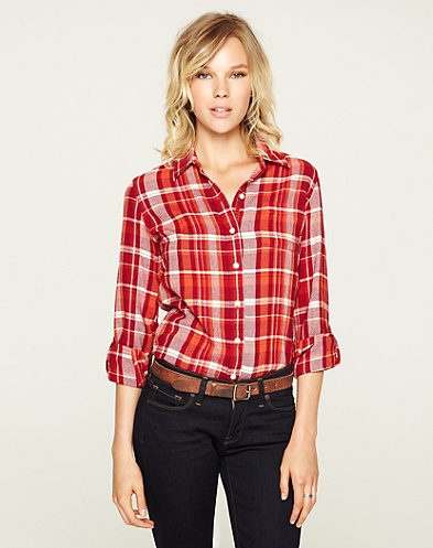 Bungalow Luxe Red Flannel*