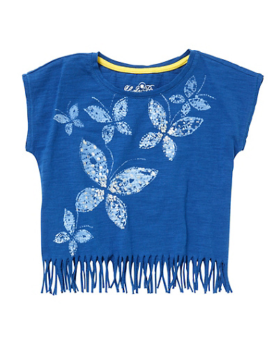 Butterfly Fringe Tee