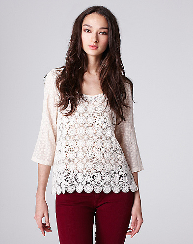 Cactus Lace Top*