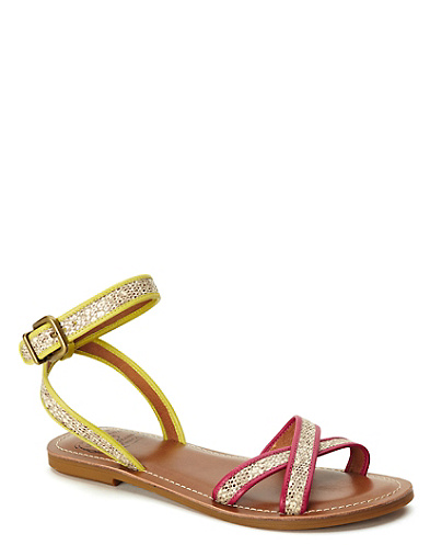 Candra Leather Strap Sandals*