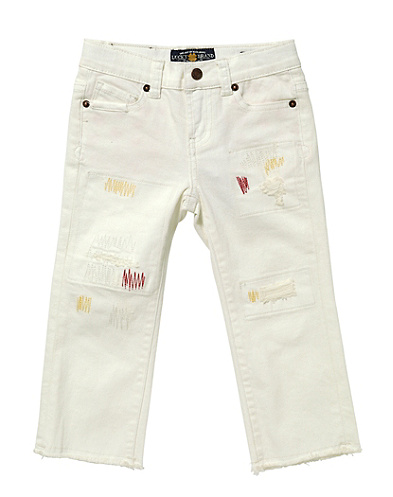 Cate Skinny Rip &amp; Repair Capri