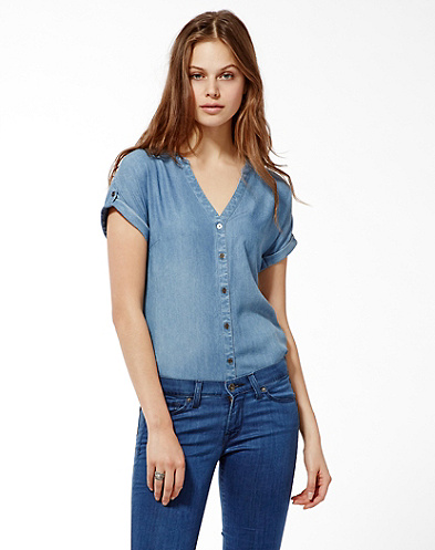 Chambray Cameron Top
