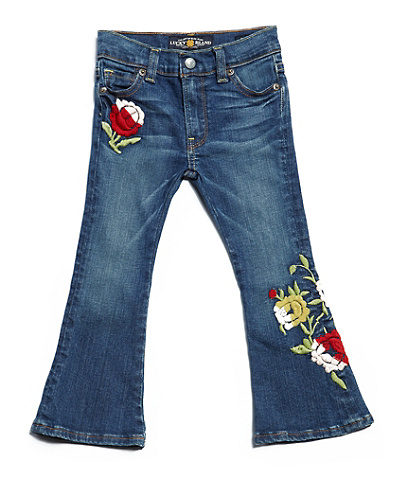 Charlie Roses Flare Jeans