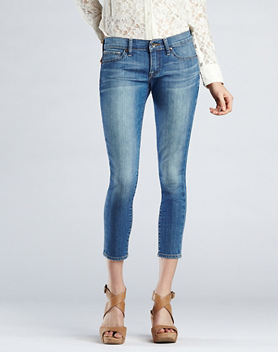 Charlie Skinny Capri Jeans*
