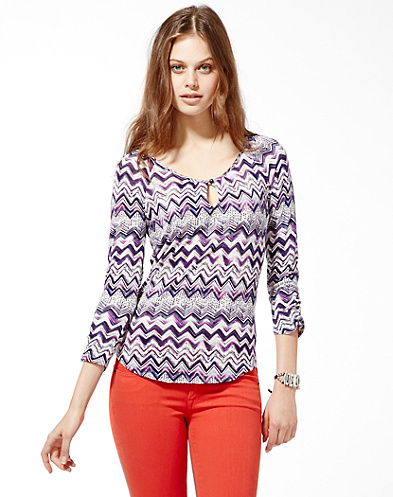 Chevron Ezra Top