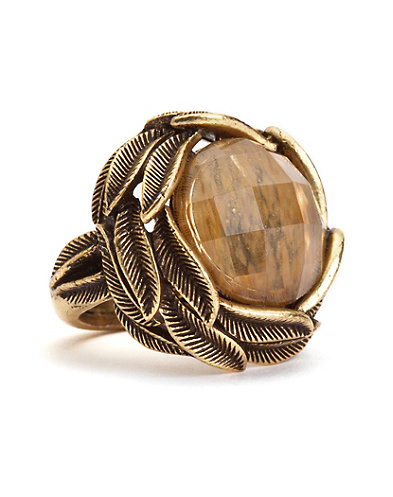 Citrine Set Stone Ring*