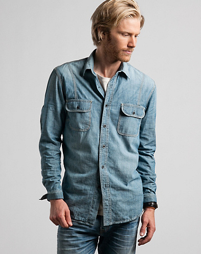 Classic Triple Needle Workshirt