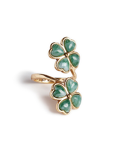 Clover Wrap Ring