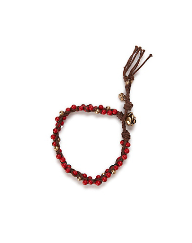Coral Friendship Bracelet