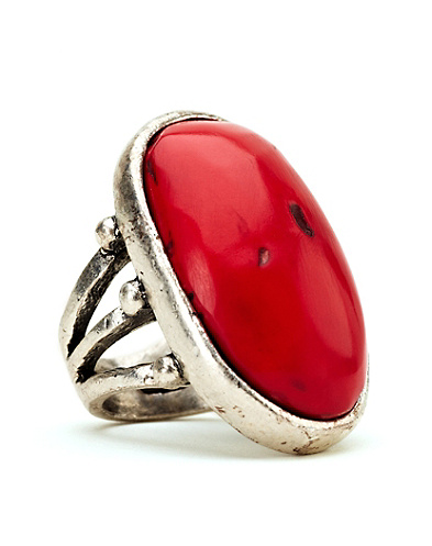 Coral Stone Ring*