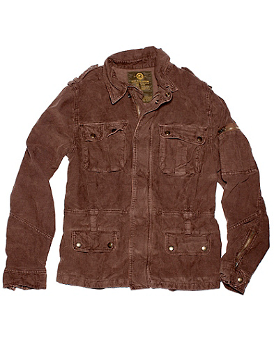 Corduroy Aviator Jacket