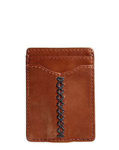 Criss Cross Stitch Slim Card Case