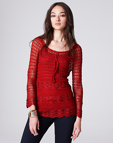 Crochet Tassle Top*