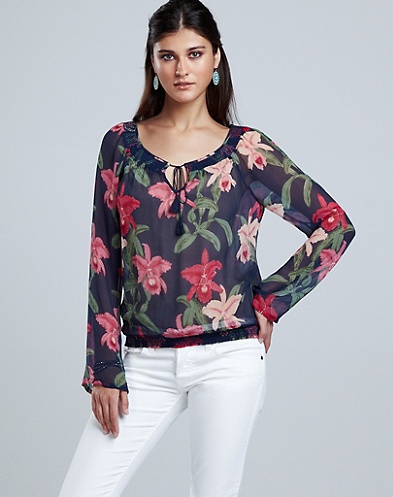 Dale Hope Claire Allover Floral Top*