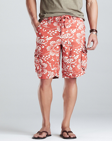 Dale Hope Del Mar Linen Cargo Shorts*