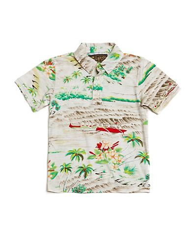 Dale Hope Printed Polo*
