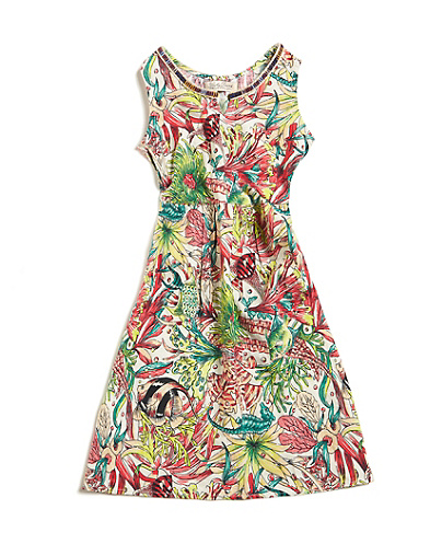 Dale Hope Tropical Fish Print Dress*