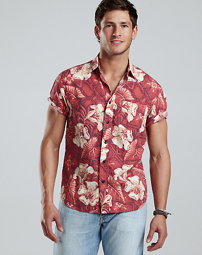 Dale Hope Volcanic Floral Shirt*