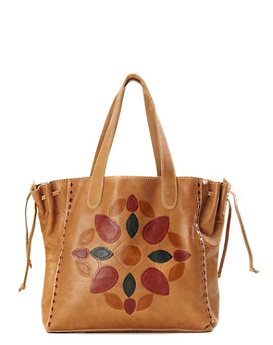 Del Mar Embossed Tote
