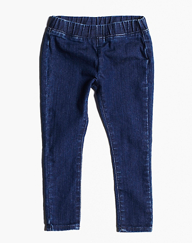 Denim Pull On Jegging