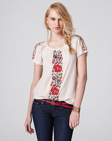 Desert Floral Top*
