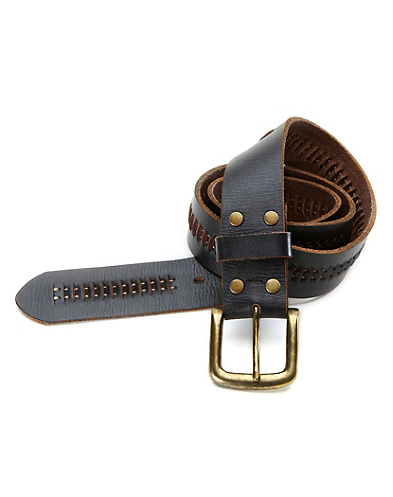 Diego Railroad Stitch Belt*