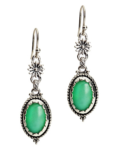 Double Drop Turquiose Earrings