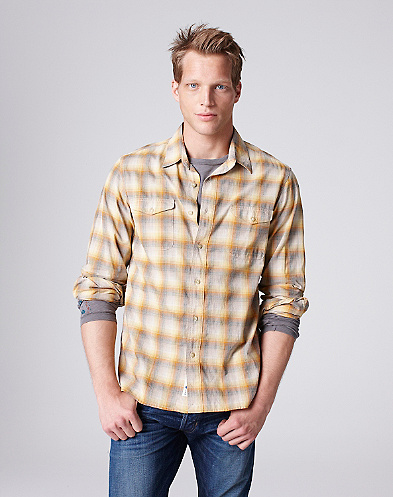 Dusty Boot Plaid Workwear Shirt*