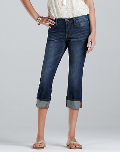 Easy Rider Crop Jeans*