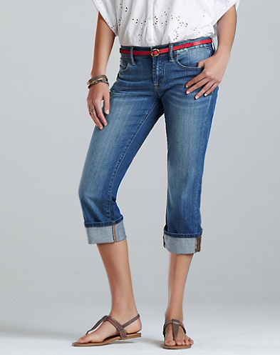 Easy Rider Crop Jeans