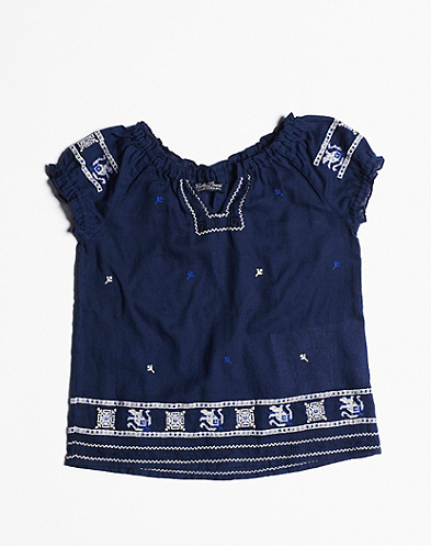 Embroidered Safi Top