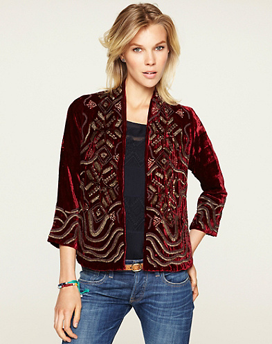 Emma Beaded Jacket*