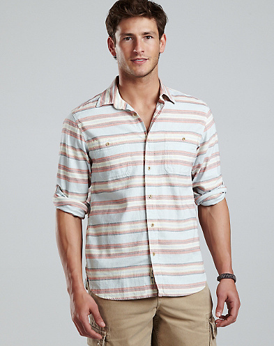 Ensenada Striped Workwear Shirt*