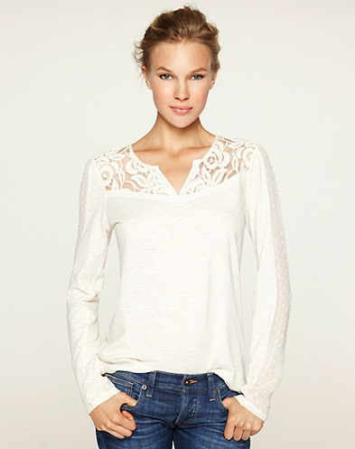 Ethereal Lace Top*