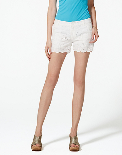 Eyelet Shorts