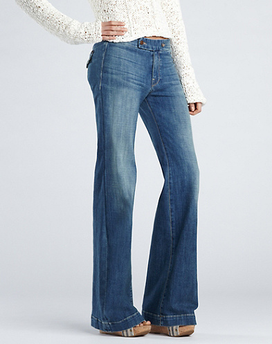 Farrah High-Rise Trousers*