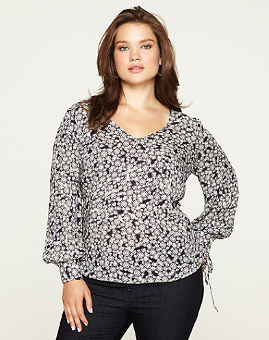 Farrah Printed Top