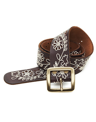 Felicia Cut Out Floral Belt*