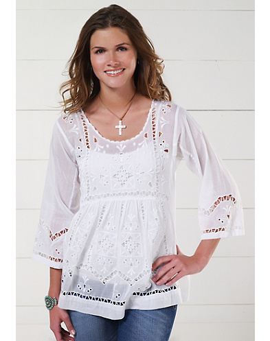 Flirty Cut-Out Shirt