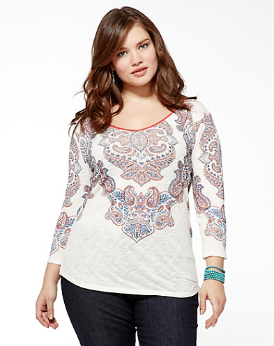 Floral Medallian T-Shirt