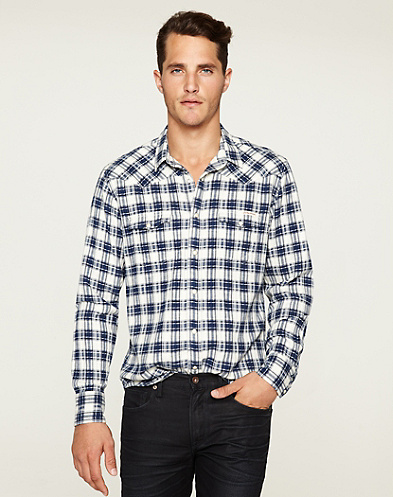 Frontier Plaid Classic Western*
