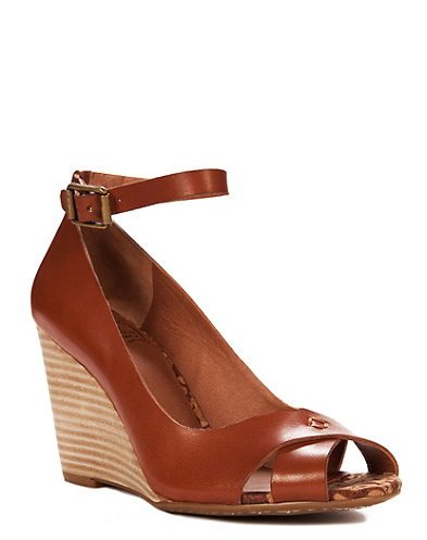 Gable Ankle Strap Wedges*