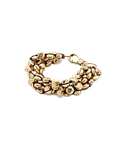 Gold Coin Bracelet