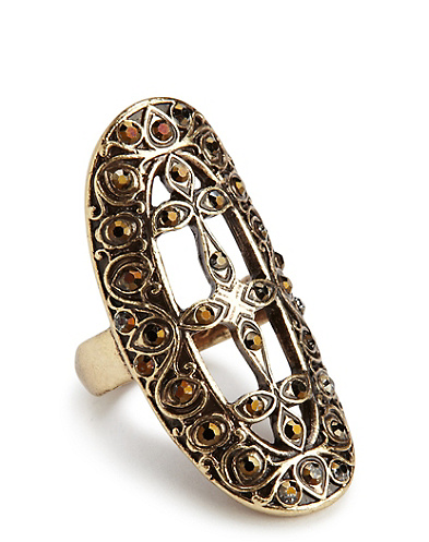 Gold Openwork Ring
