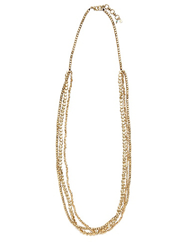 Gold Triple Layer Necklace
